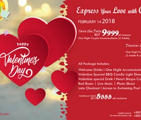 Express Your Love With Chuti Resort
