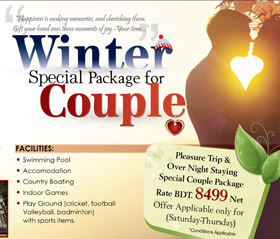 Special Couple Package for Night Stay